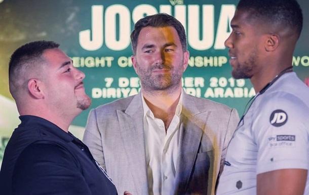 Джошуа - Руїс: перша битва поглядів перед реваншем