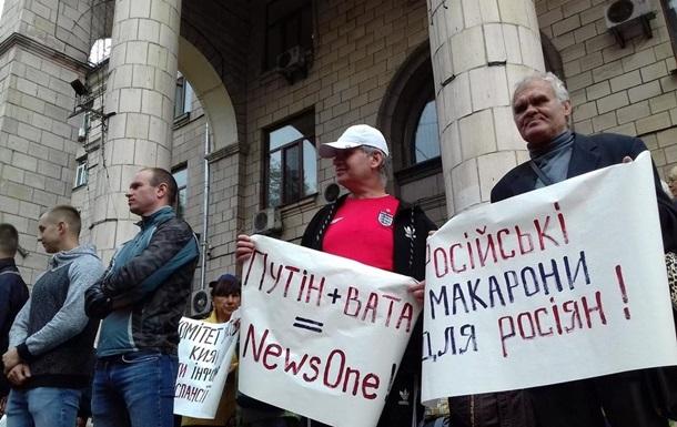 Прихильники і противники 112 Україна і News One протестують під Нацрадою