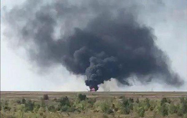 В России на аэродроме разбился вертолет