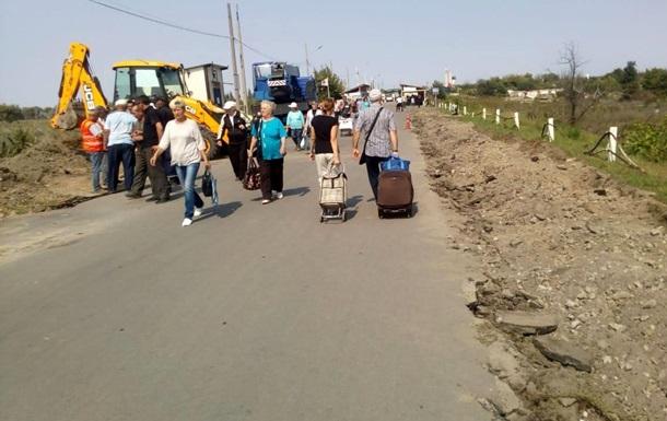 Cепаратисти блокують відновлення моста в Станиці Луганській - штаб ООС