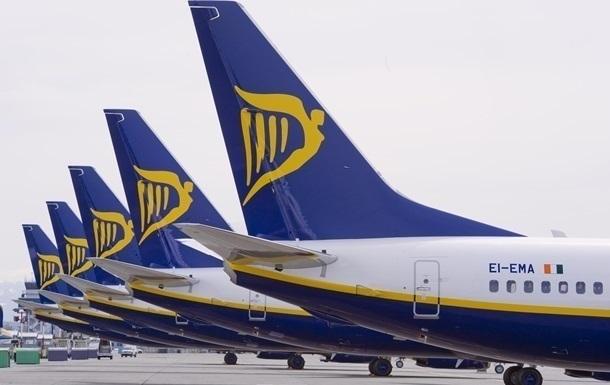 Квитки Ryanair до Києва влітку стали популярнішими на 1500%