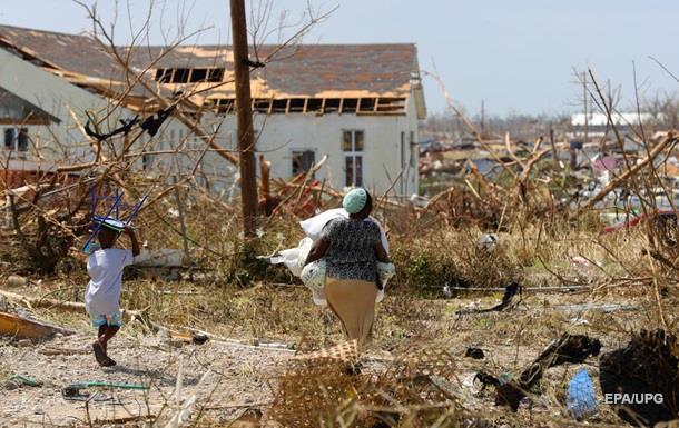 Жертвами урагану на Багамах стали 30 осіб