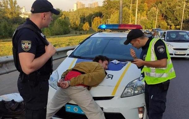 Стрельба в Киеве: полиция задержала стрелка
