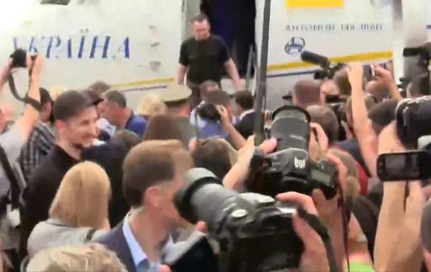 Обнародован список освобожденных украинцев