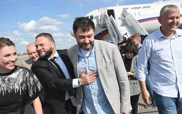 У Росії учасників обміну вивезли з аеропорту