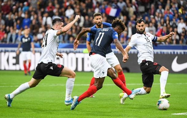 Євро-2020: Франція розгромила Албанію, Ісландія обіграла Молдову