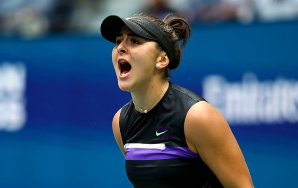 Андреєску сенсаційно обіграла Серену Вільямс у фіналі US Open