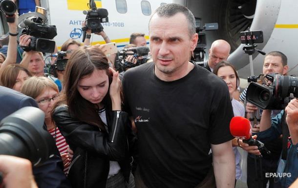 Денисова рассказала, где поселили Сенцова и Кольченко