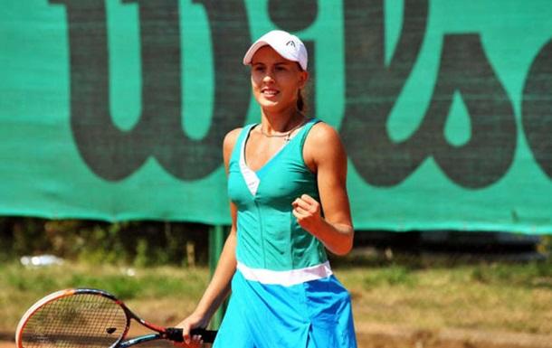 Украинка Чернышева выиграла турнир ITF в Хорватии