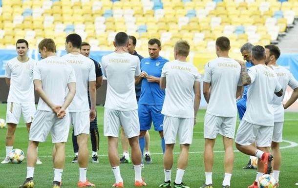 Сборная Украины проведет открытую тренировку перед матчем с Нигерией