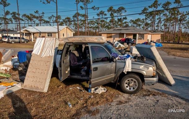 На Багамах возросло количество жертв урагана Дориан