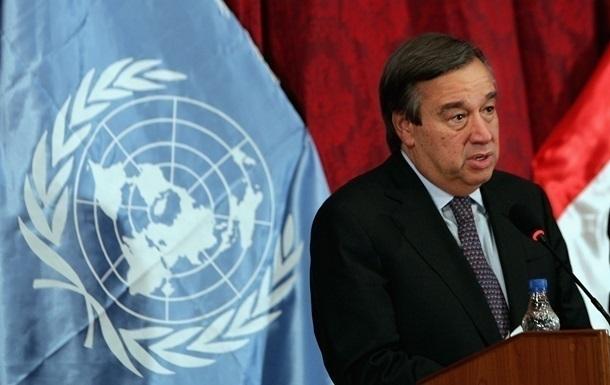 Генсек ООН оцінив обмін між Україною і Росією