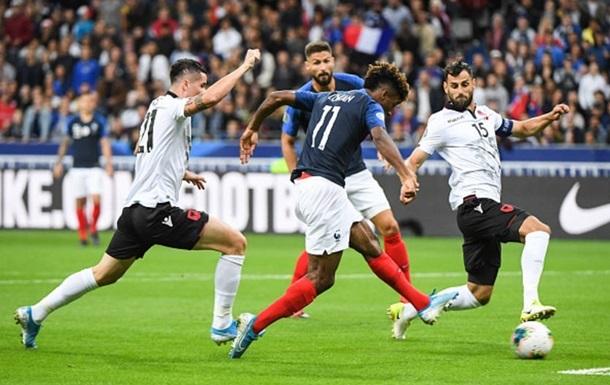 Макрону пришлось извиняться перед Албанией за инцидент на футболе
