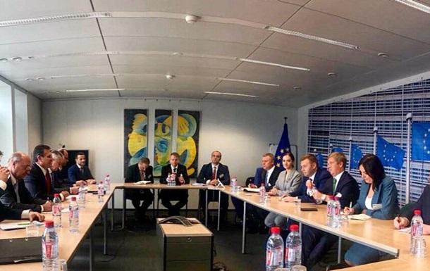 Транзит газа: Украина и ЕС согласовывают позиции