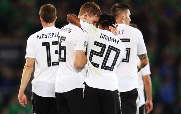 Северная Ирландия - Германия 0:2. Видео голов и обзор матча