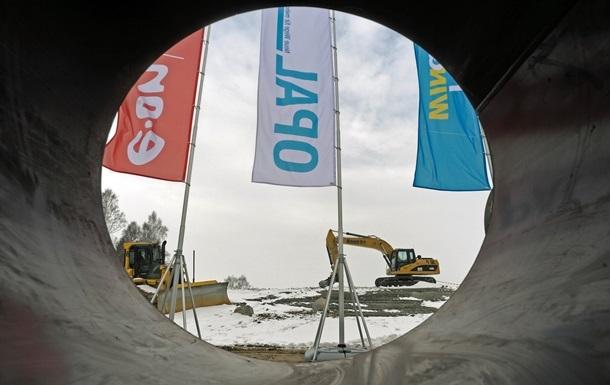 Газпрому обмежили використання газопроводу OPAL