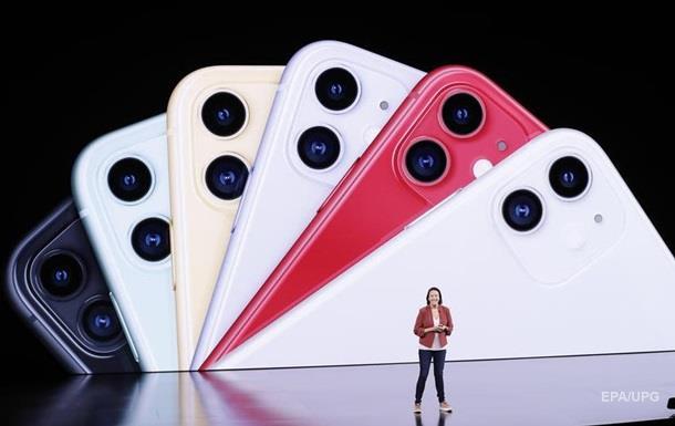 Apple презентувала лінійку IPhone 11