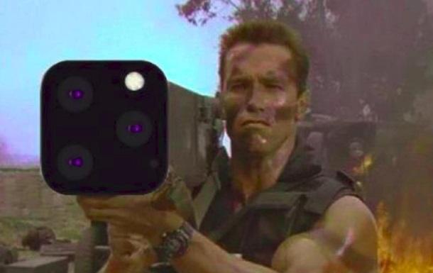 Нові iPhone 11 висміяли в соцмережах через камеру
