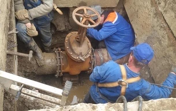 У Львові сталася велика аварія на водопроводі