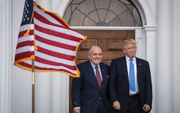 Конгресс США начал расследование деятельности Трампа и Джулиани на Украине