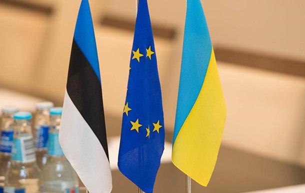 Эстония задумалась о прекращении бизвиза с Украиной