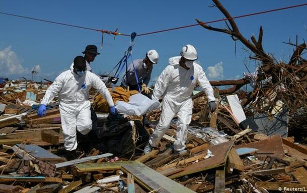 Наслідки урагану  Доріан : на Багамах 2500 осіб зникли безвісти