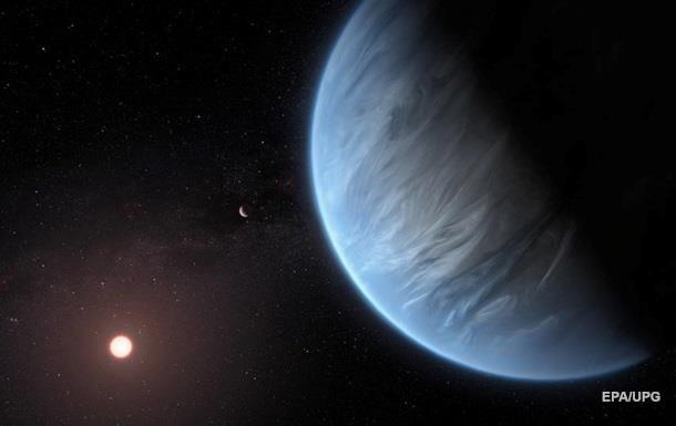 Вчені вперше знайшли водяну пару в атмосфері суперземлі