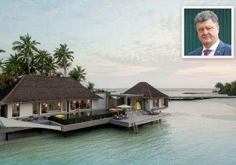 Неприлично дорогая поездка Порошенко на Мальдивы может выйти ему боком