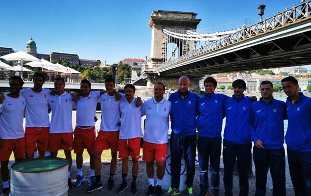 Кубок Девіса: збірні України і Угорщини провели жеребкування