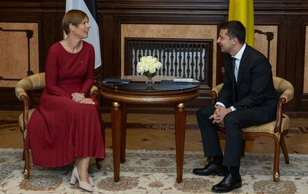 Президент Эстонии обсудила с Зеленским обмен пленными