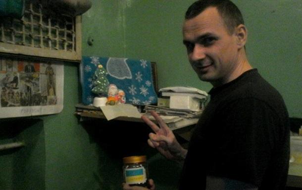 Сенцов виклав єдине фото із в язниці