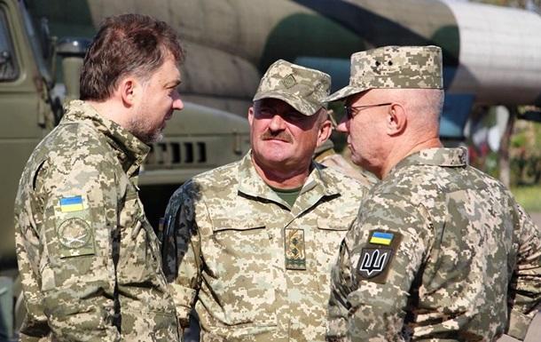 Линию фронта посетили главы Минобороны и Генштаба