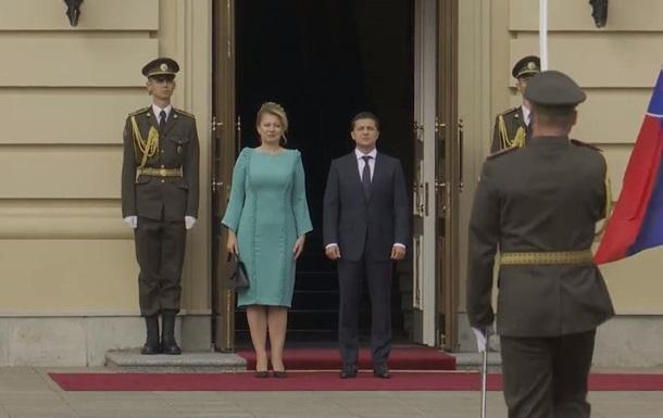 Встреча Зеленского с Зузана Чапутова