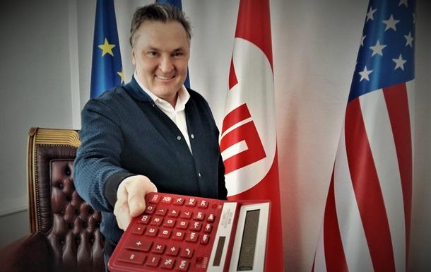Подарите Гончаруку калькулятор!
