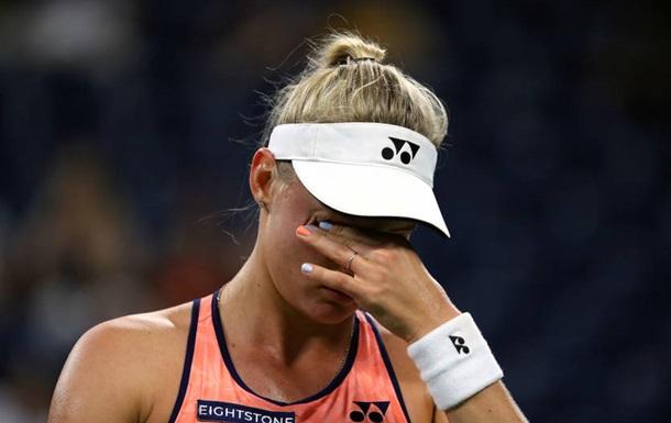 Ястремська програла на старті турніру в Осаці