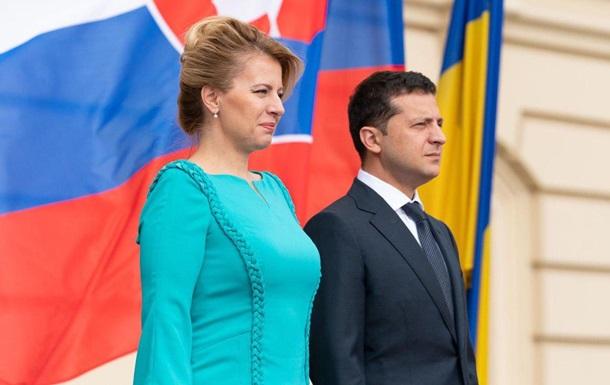 Зеленський і президент Словаччини обговорили транзит газу