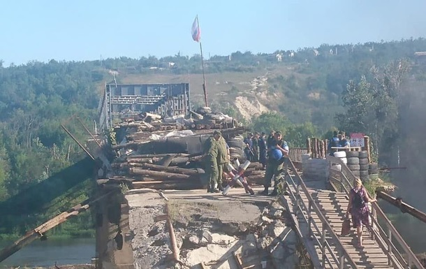 Станица: сепаратисты строят новые наблюдательные пункты - волонтеры