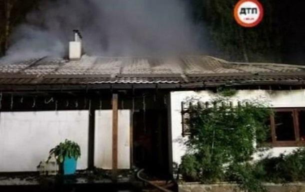 Підпал будинку Гонтаревої: поліція назвала версії