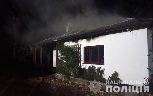 Поджог дома Гонтаревой: подробности от полиции