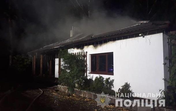 У згорілому будинку Гонтаревої виявили запальну ракету