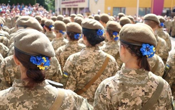 В Україні різко збільшилася кількість жінок-військових