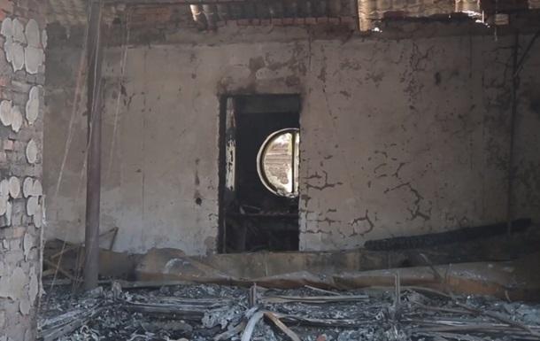 Підпал будинку Гонтаревої: з явилося відео з наслідками