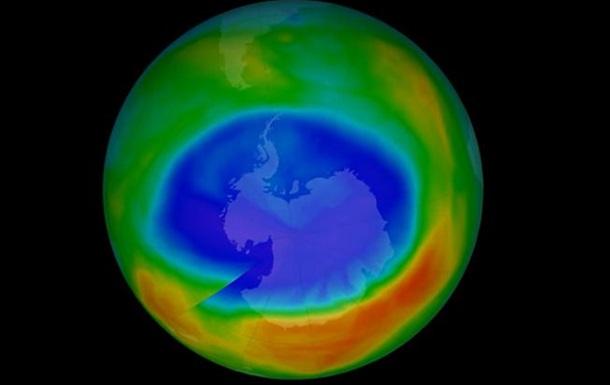 Зафиксировано рекордное уменьшение озоновой дыры