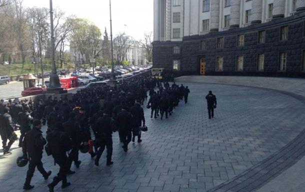 У центрі Києва перекрили рух через мітинг