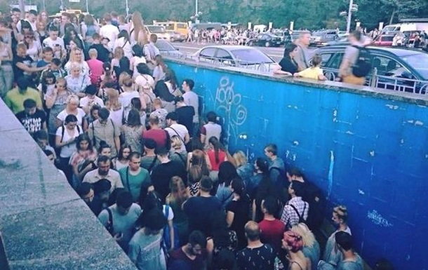 Черги і тиснява в київській підземці: в метро назвали причини