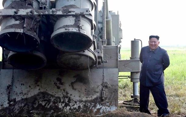 Десять снарядов от  Ким Чен Ына