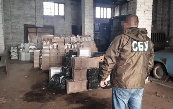 На Буковине  накрыли  цех с подпольным производством сигарет и алкоголя