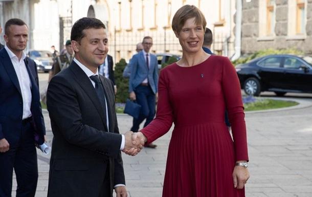 Президент Естонії взнала відмінність України від інших країн СРСР, відвідавши Київ