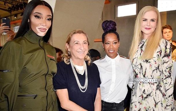 В рамках недели моды в Милане прошел показ Prada