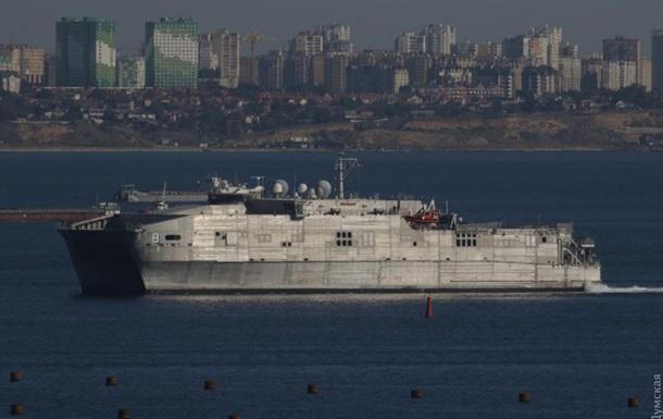 У порт Одеси зайшов американський десантний корабель